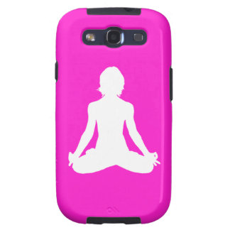 Galaxy S3 Case-Mate Yoga Silhouette Pink