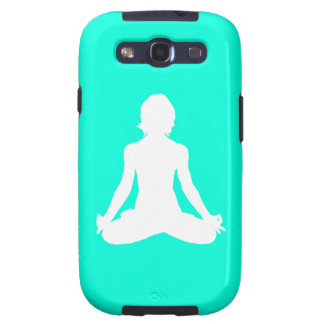 Galaxy S3 Case-Mate Yoga Silhouette Turquoise