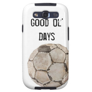 Galaxy S3 Cover Soccer Vintage Ball