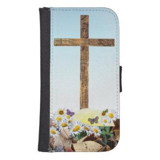 Galaxy S4 Christian cross Galaxy S4 Wallet