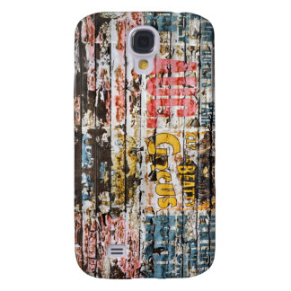 Galaxy S4 Circus Poster Case Samsung Galaxy S4 Covers