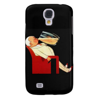 Galaxy S4 Cover Exotic Drinking Man