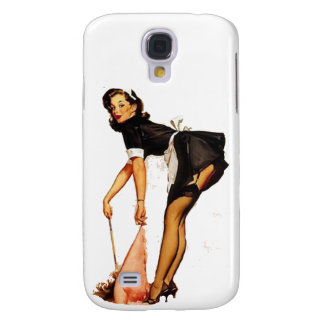 Galaxy S4 Cover Exotic Pin-Up Girl
