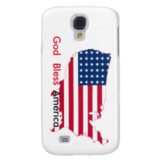 "Galaxy S4 ""God Bless America"" Phone Case"