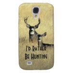 Galaxy S4 Masculine White Tail Mule Deer Buck Doe Galaxy S4 Cover