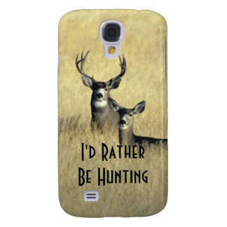 Galaxy S4 Masculine White Tail Mule Deer Buck Doe Galaxy S4 Cover