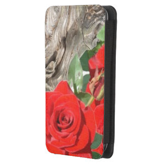 Galaxy S4 roses and wood Galaxy S4 Pouch