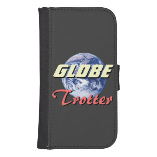 Galaxy S4 Wallet Case for Globetrotters