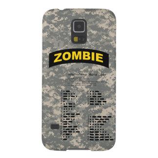 Galaxy S5 Case - Zombie Tab, ACU Pat, Morse Code
