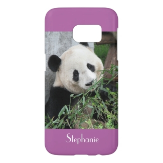 Galaxy S7 Case Giant Panda, CHOOSE YOUR COLOR
