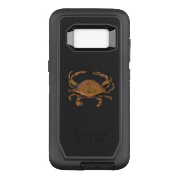 nautical_gifts Galaxy S8 OtterBox Defender Copper Crab on Black OtterBox Defender Samsung Galaxy S8 Case