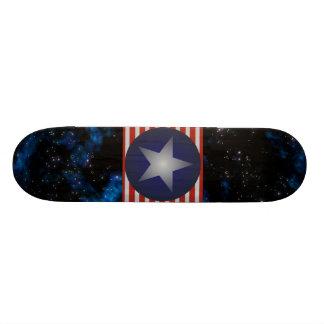 Galaxy Sargent Star and Stripes Custom Skate Board