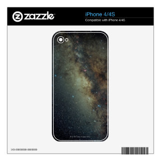 Galaxy Skin For iPhone 4