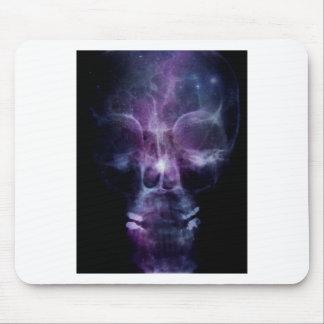 Galaxy Skull X-ray Mouse Pad