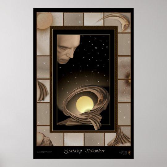 Galaxy Slumber Poster