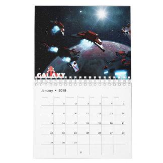 Galaxy Small Calendar