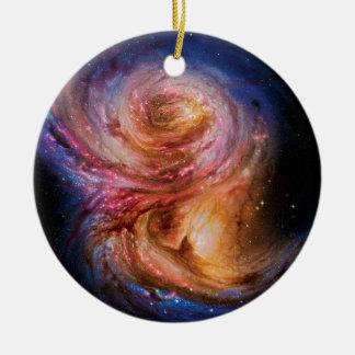 Galaxy SMM J2135-0102 Ceramic Ornament