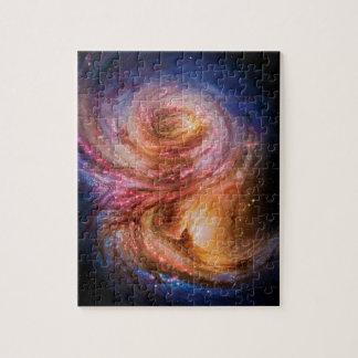 Galaxy SMM J2135-0102 Puzzle
