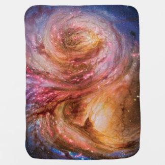 Galaxy SMM J2135-0102 Swaddle Blanket