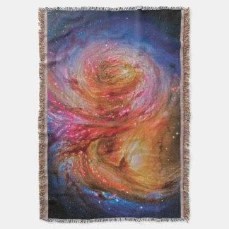 Galaxy SMM J2135-0102 Throw Blanket