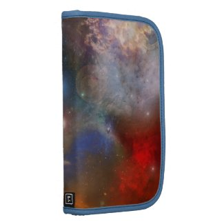 Galaxy Space Abstract Art Planner rickshaw_folio