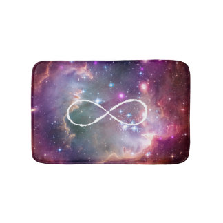 Galaxy space hipster background bath mats