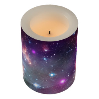 Galaxy space hipster background printed shoes flameless candle