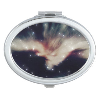 Galaxy Space Oval Compact Mirror