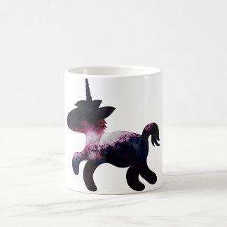 Galaxy Space Unicorn Classic White Coffee Mug