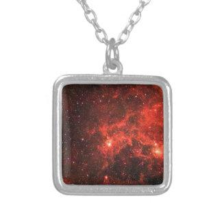 Galaxy Square Pendant Necklace