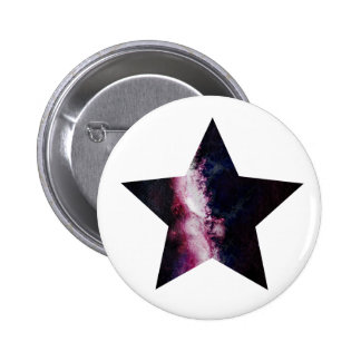 Galaxy Star Pinback Button