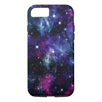 Galaxy Stars 3 Iphone 7 Case by OrganicSaturation at Zazzle