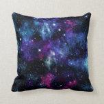 Galaxy Stars 3 Throw Pillow