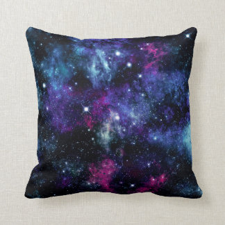 Galaxy Stars 3 Throw Pillow