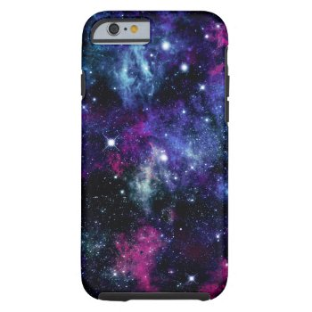 Galaxy Stars 3 Tough Iphone 6 Case by OrganicSaturation at Zazzle