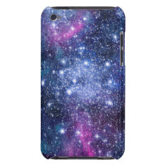 Galaxy Stars Barely There Ipod Cover at Zazzle