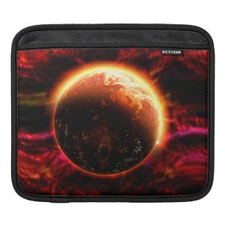 Galaxy Stars Flaming Aurora Sleeve For iPads