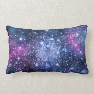 Galaxy Stars Lumbar Pillow