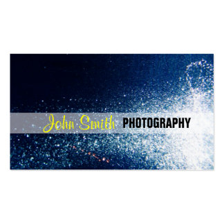 Galaxy stars photography business card