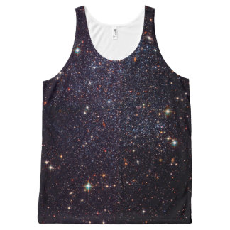 Galaxy Stars Space All-Over Print Tank Top