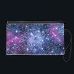 "Galaxy Stars Wristlet Purse<br><div class=""desc"">Design by OS. Copyright &#169; 2012 Organic Saturation</div>"