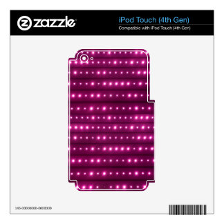 Galaxy Stripes Pattern iPod Touch 4G Decals