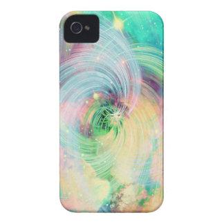 Galaxy Swirls Print iPhone 4 Cover