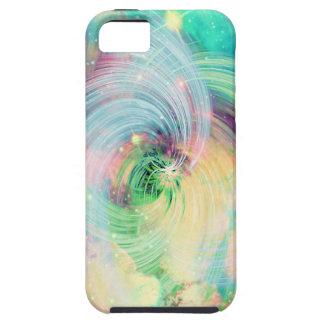 Galaxy Swirls Print iPhone SE/5/5s Case