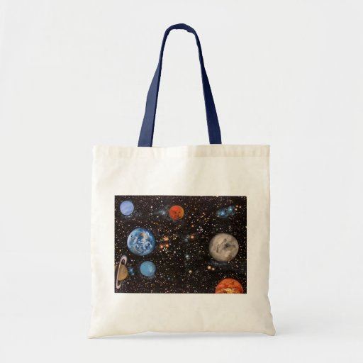 Galaxy Tote Canvas Bags
