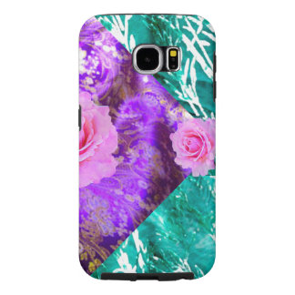 GALAXY TOUGHS6- EXCEPTIONAL ROSE FLORAL CASE! SAMSUNG GALAXY S6 CASES