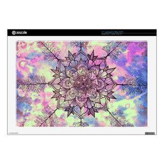 "Galaxy Tree Mandala 17"" Laptop Skin"
