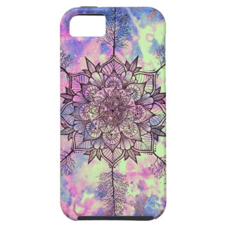 Galaxy Tree Mandala iPhone SE/5/5s Case