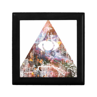 Galaxy Triangle Keepsake Boxes