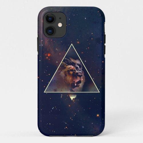 Galaxy Triangle Lion Head - Trendium Authentic Phone Case